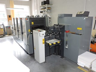Komori Lithrone L 420 B Sheet Fed