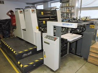 Komori Sprint S228P Sheet Fed
