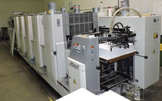SAKURAI OLIVER 566 SI+C 单张纸胶印机