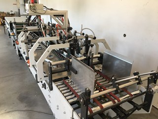 Folder gluer cardboard Versor SK 60k3 Folder Gluers