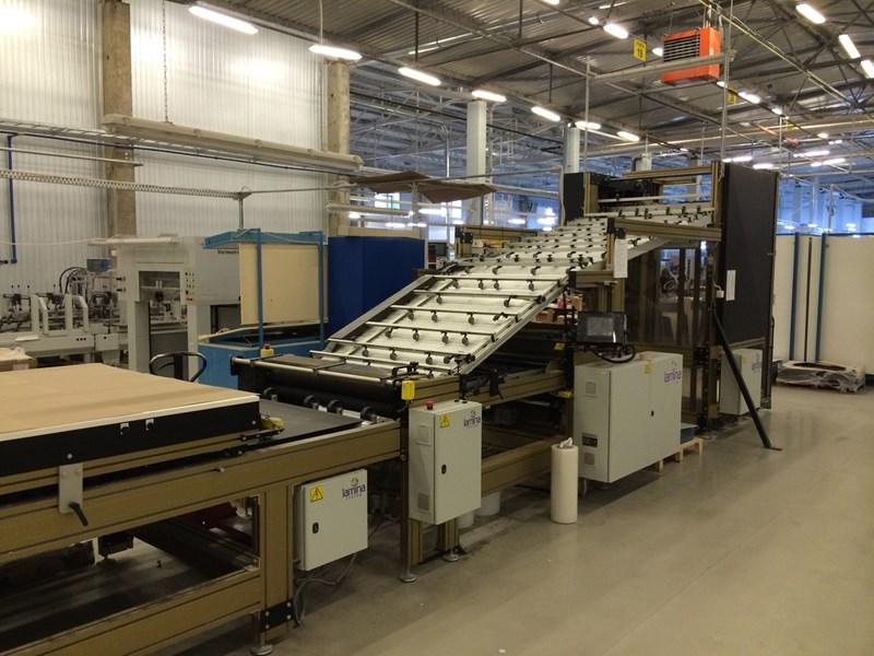 Laminating machine LAMINA 1116 FAS