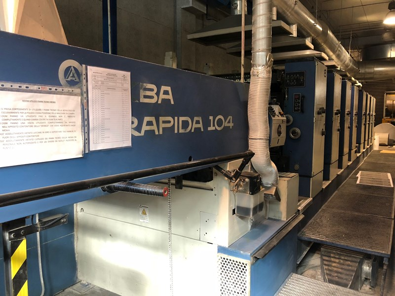 1997  KBA Rapida 104 8 SW4 PWHA
