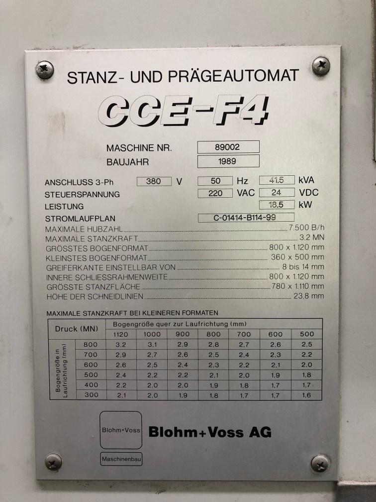 1989  Blohm + Voss  CCE F4