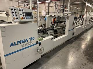 Bobst Alpina 110 MOT / A3 Carton /Folder Gluers