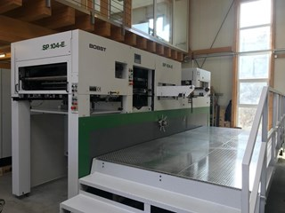 Bobst SP 104 E Die Cutters - Automatic and Handfed