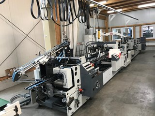 Bobst Domino 90 A3 PLIEUSES-COLLEUSES/FABRICATIONS DES BOITES