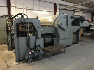 Bobst SP 1260 E Die Cutters - Automatic and Handfed