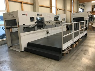 Bobst Speria 106 E Die Cutters - Automatic and Handfed