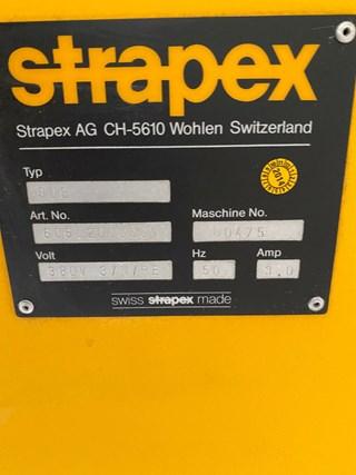 Strapex pallet wrapper type 606 Máquinas de embalaje