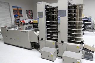 2005  Horizon VAC-100a VAC-100c SPF-20A FC-20A Broschürenfertigungssysteme