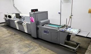 2014  MGI Jet Varnish Digital Printing