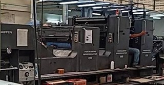 Heidelberg CD 102 2+L Sheet Fed