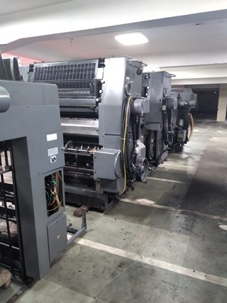 Heidelberg SM 102 ZP Sheet Fed