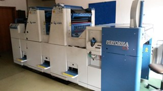 KBA PERFORMA 66-2 Sheet Fed
