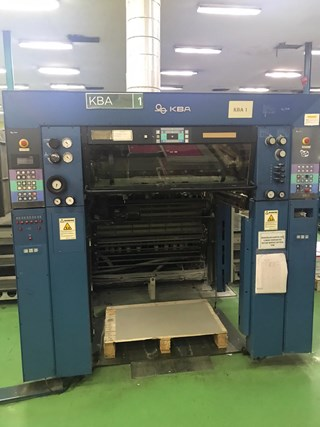 KBA Rapida 105U HS6+L  Sheet Fed