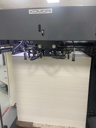 Komori Lithrone LS-640+CX UV Sheet Fed