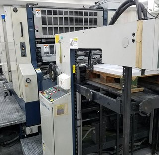 Komori Lithrone L-240 P Offset de pliegos