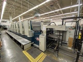 Komori Lithrone L-640+CX 单张纸胶印机