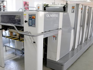 Sakurai Oliver 466 SD 单张纸胶印机