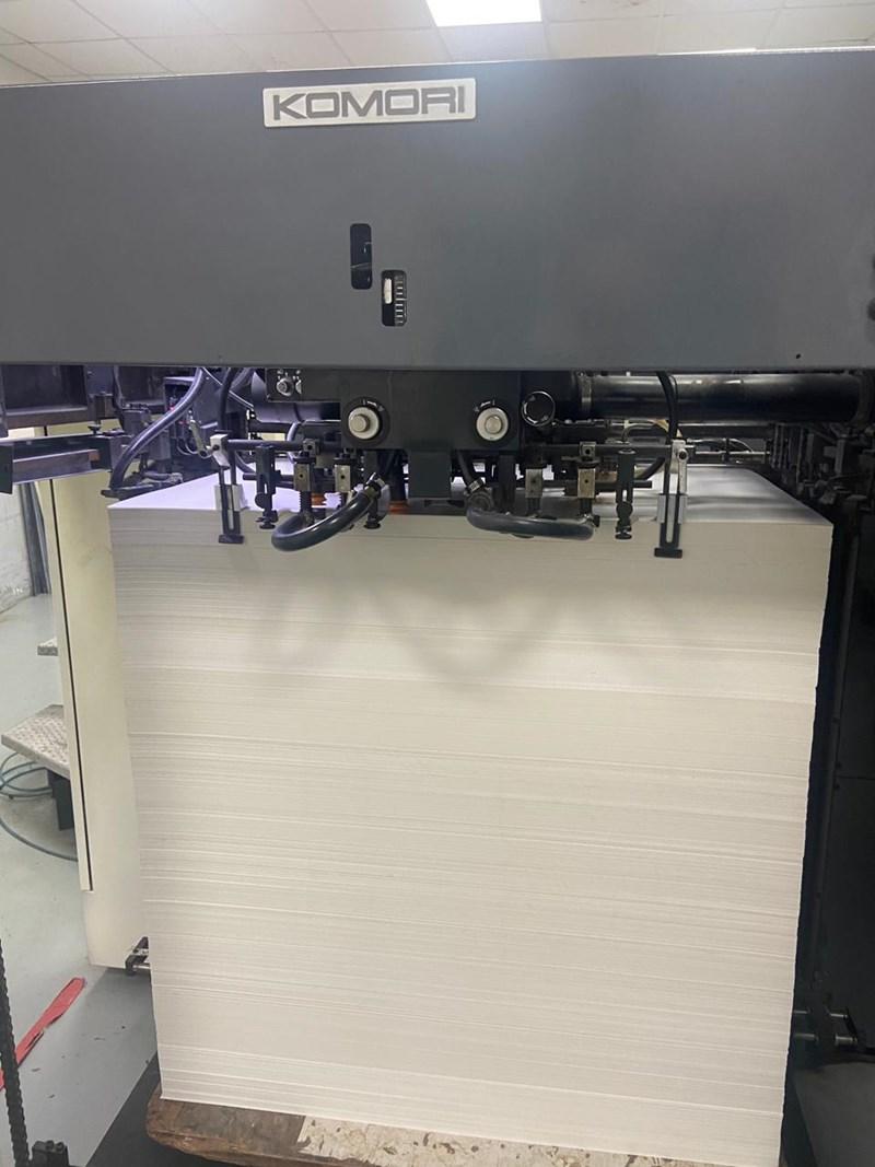 Komori Lithrone LS-640+CX UV