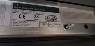 2010 Kodak SE 3600 Digital Printing
