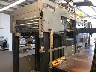 1988  Bobst SP 102-E Die Cutting