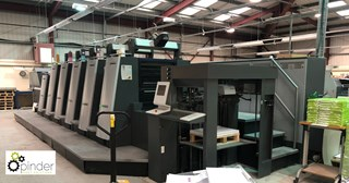 2014 Heidelberg XL75-5+L Offset 5-Colour Press  Sheet Fed