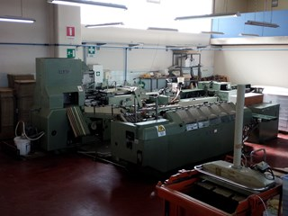 1980 Kolbus BF 40 - Also available as a package of 3 machines Case Production