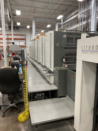 Komori LS640+LX-UV Sheet Fed