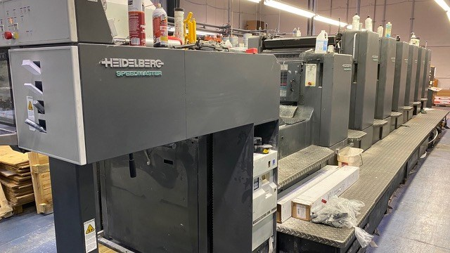 Show details for Heidelberg CD 102-6+LX