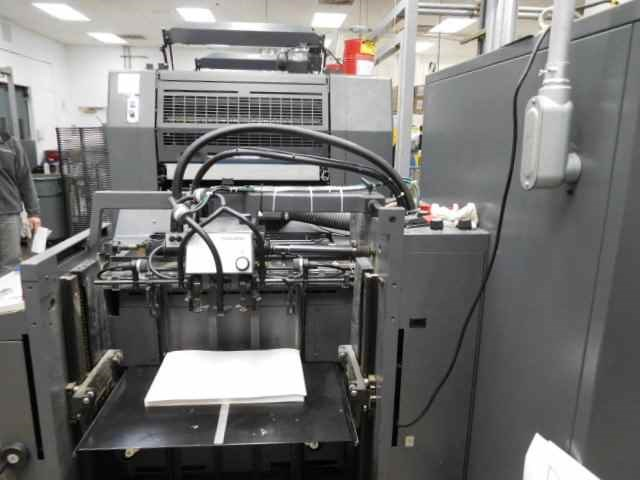Heidelberg SM74-2H with UV