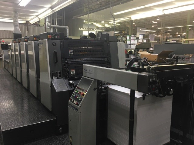 Komori Lithrone L-528+LX