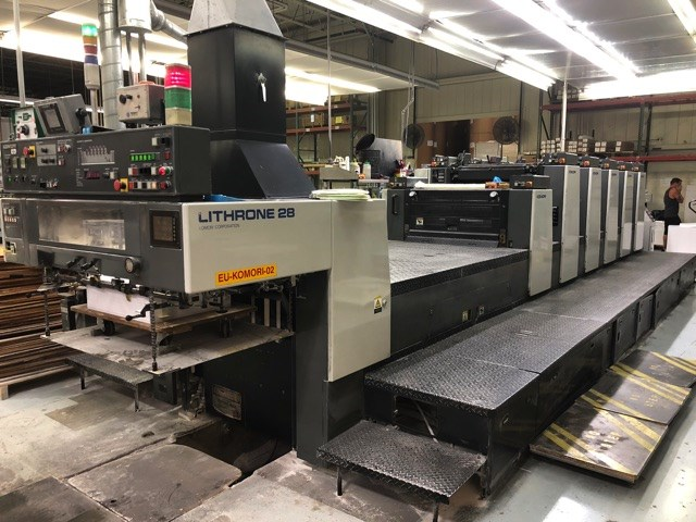 Show details for Komori Lithrone L-528+LX