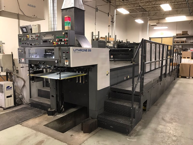 Show details for Komori Lithrone L628+LX