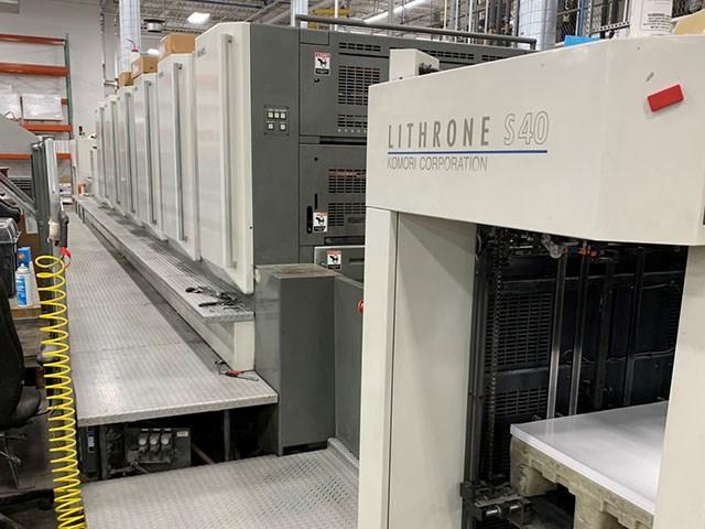 Komori Lithrone LS-640+LX