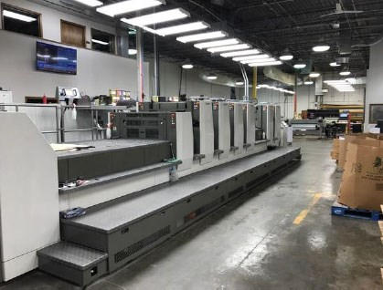 Show details for Komori Lithrone LS629P+C
