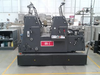 1998 Heidelberg GTO Z 52 Sheet Fed