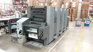 2003 Heidelberg SM52-4 Sheet Fed