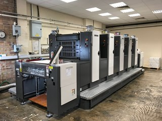 2007 Shinohara 75 V Sheet Fed