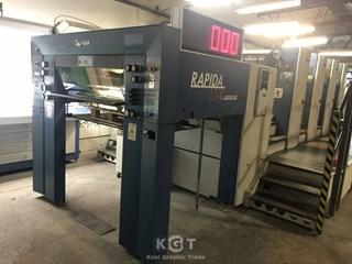 KBA (Koenig & Bauer) Rapida 105-4 PWHA Universal Gebrauchte Bogenoffsetmaschinen
