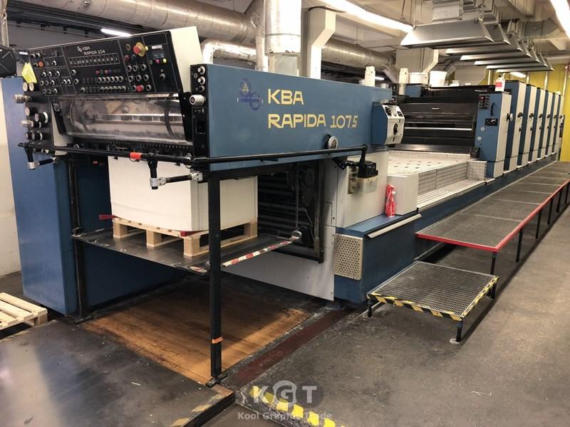 KBA (Koenig & Bauer) Rapida 104-6+LV
