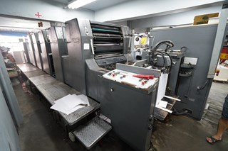 1994 HEIDELBERG SM74-5H Sheet Fed
