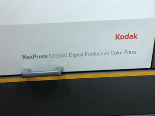 2012  Kodak NEXPRESS SX3300 Digital Printing