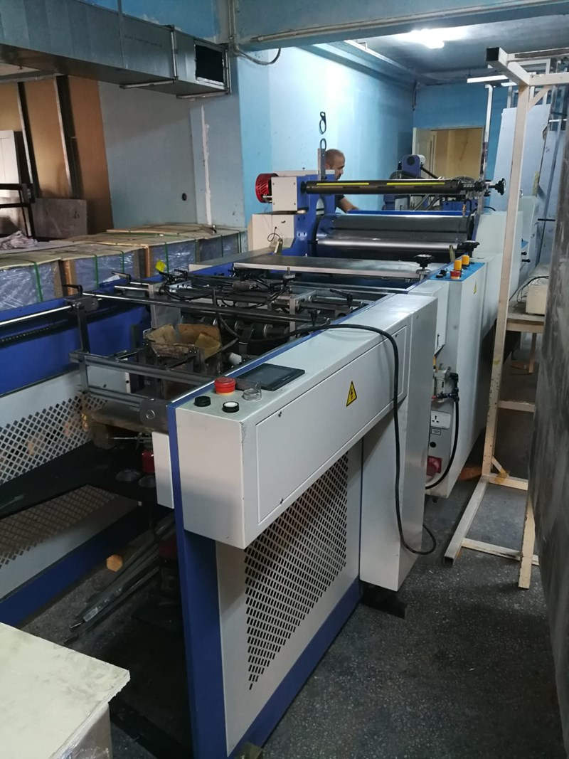 2015 Wenzhou guangming printing machinery  automatic laminating SAFM-800A