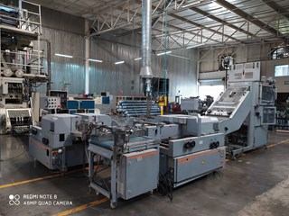 2008 Gammerler RS134 (4) Knife Rotary Trimming system Sheeters & Inline Finishing