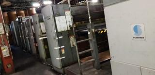"2003 Goss Sunday 2000 (6) Unit Web Press System 22.25"" (565mm) Cutoff Prensas Rotativas Comerciales"