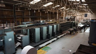 "2001 Heidelberg M600A (5) Unit Web Press System 578mm / 22.75"" Cutoff Heatset"