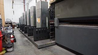"2002 Heidelberg M600 A24  (5) Unit (1) Web Press System 22.75"" (578mm) Cutoff Heatset"