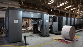 "2001 Heidelberg M600 A24 (5) Unit Web Press 22.75"" (578mm) Prensas Rotativas Comerciales"