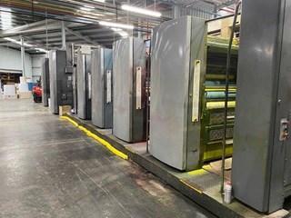 """2001 Heidelberg M600 B24 (8) Unit Duplexed Web Press 578mm / 22.75"""" cutoff Akzidenzmaschine"""